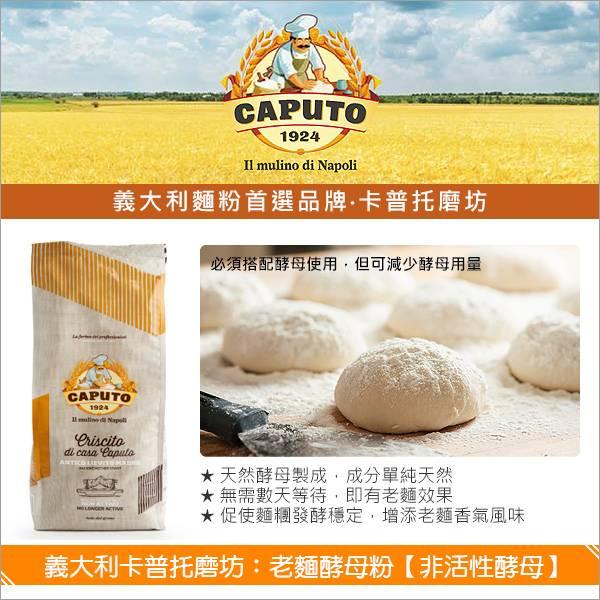 《原裝》義大利卡普托磨坊:老麵酵母粉【非活性酵母】1000g 麵包,酵母,老麵
