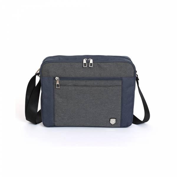 城市型蹤-斜肩包 (深藍) The89,男包,女包,斜肩包,後背包,腰包公事包,小包,短夾,長夾,手拿包,托特包,手提包,配件,證件夾,零錢包,名牌精品,專櫃品牌