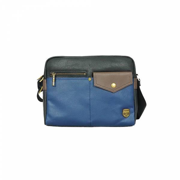 創意玩味-斜肩包 (黑藍) The89,男包,女包,斜肩包,後背包,腰包公事包,小包,短夾,長夾,手拿包,托特包,手提包,配件,證件夾,零錢包,名牌精品,專櫃品牌