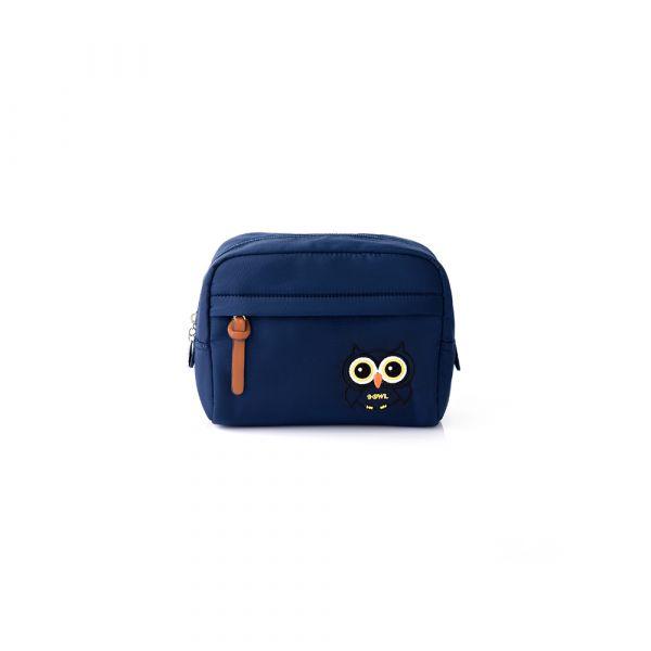 夜幕森情-車繡款-小物收納包 (深藍) The89,男包,女包,斜肩包,後背包,腰包公事包,小包,短夾,長夾,手拿包,托特包,手提包,配件,證件夾,零錢包,名牌精品,專櫃品牌