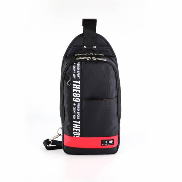 輕旅騎行-單肩胸包 (黑色) The89,男包,女包,斜肩包,後背包,腰包公事包,小包,短夾,長夾,手拿包,托特包,手提包,配件,證件夾,零錢包,名牌精品,專櫃品牌