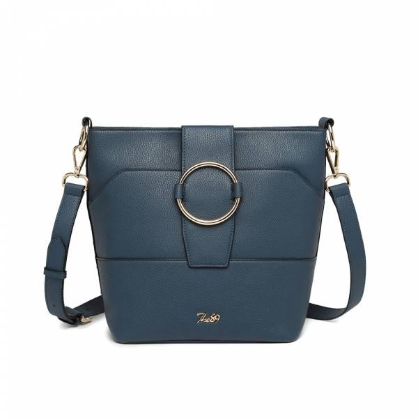 摩登經典-斜背包 (深藍) The89,男包,女包,斜肩包,後背包,腰包公事包,小包,短夾,長夾,手拿包,托特包,手提包,配件,證件夾,零錢包,名牌精品,專櫃品牌