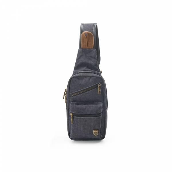 美好年代-單肩斜背包 (灰/藍色) The89,男包,女包,斜肩包,後背包,腰包公事包,小包,短夾,長夾,手拿包,托特包,手提包,配件,證件夾,零錢包,名牌精品,專櫃品牌