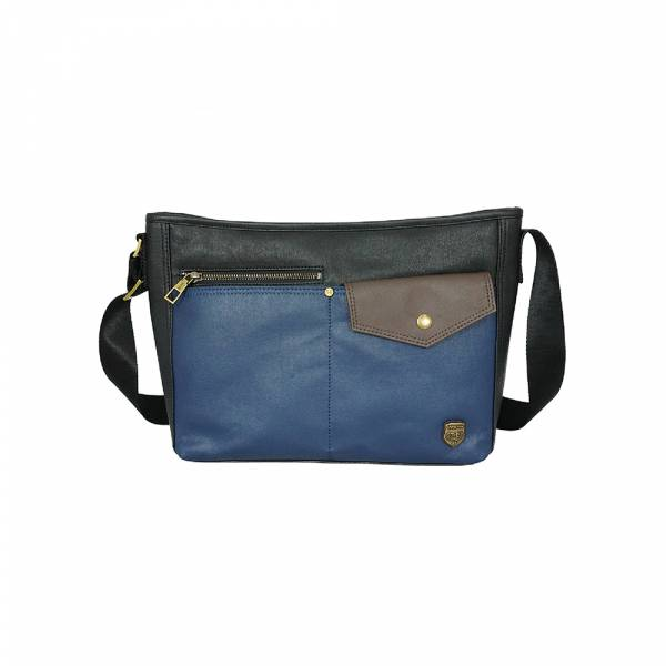 創意玩味-斜肩包 (黑藍/藍綠) The89,男包,女包,斜肩包,後背包,腰包公事包,小包,短夾,長夾,手拿包,托特包,手提包,配件,證件夾,零錢包,名牌精品,專櫃品牌