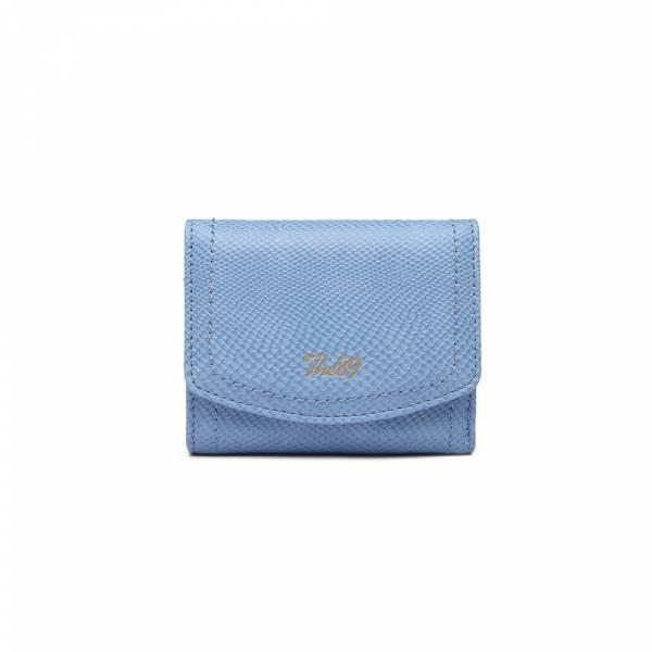 慢活午後-短夾(淺藍) The89,男包,女包,斜肩包,後背包,腰包公事包,小包,短夾,長夾,手拿包,托特包,手提包,配件,證件夾,零錢包,名牌精品,專櫃品牌