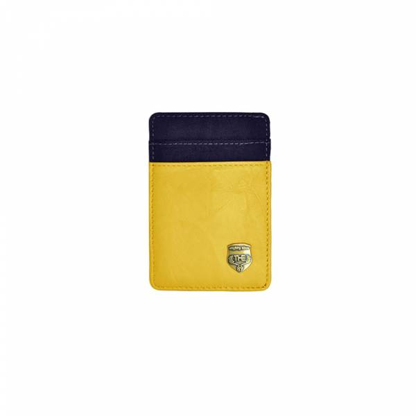休閒摩登-卡片夾 (灰黃色) The89,男包,女包,斜肩包,後背包,腰包公事包,小包,短夾,長夾,手拿包,托特包,手提包,配件,證件夾,零錢包,名牌精品,專櫃品牌