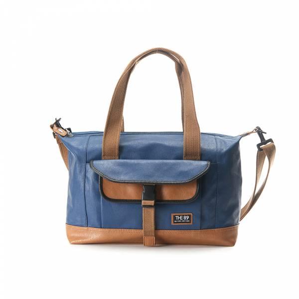 穿梭職人-肩背/手提包 (綠色/藍色) The89,男包,女包,斜肩包,後背包,腰包公事包,小包,短夾,長夾,手拿包,托特包,手提包,配件,證件夾,零錢包,名牌精品,專櫃品牌
