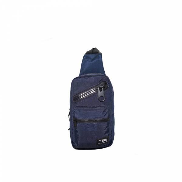 美好年代-斜肩包 (深灰/深藍) The89,男包,女包,斜肩包,後背包,腰包公事包,小包,短夾,長夾,手拿包,托特包,手提包,配件,證件夾,零錢包,名牌精品,專櫃品牌