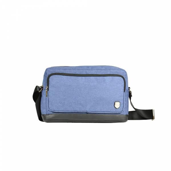 極簡光影-斜背包 (灰/藍) The89,男包,女包,斜肩包,後背包,腰包公事包,小包,短夾,長夾,手拿包,托特包,手提包,配件,證件夾,零錢包,名牌精品,專櫃品牌