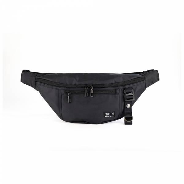 輕旅騎行-腰包 (黑色) The89,男包,女包,斜肩包,後背包,腰包公事包,小包,短夾,長夾,手拿包,托特包,手提包,配件,證件夾,零錢包,名牌精品,專櫃品牌