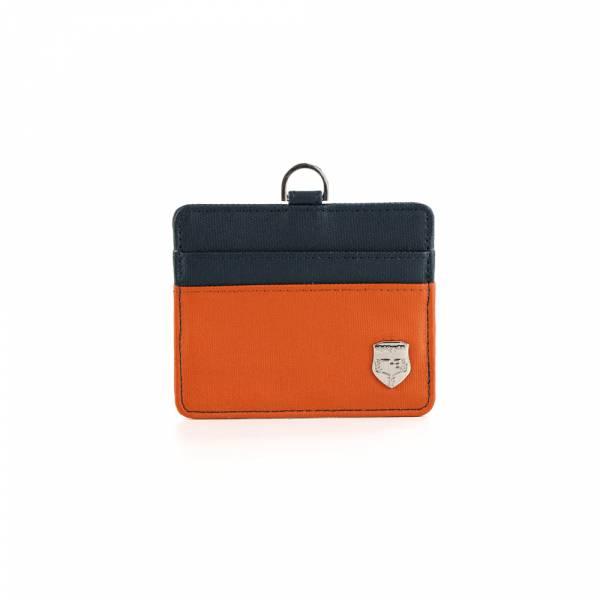 生活密碼-卡片夾 (紅色/橘色) The89,男包,女包,斜肩包,後背包,腰包公事包,小包,短夾,長夾,手拿包,托特包,手提包,配件,證件夾,零錢包,名牌精品,專櫃品牌