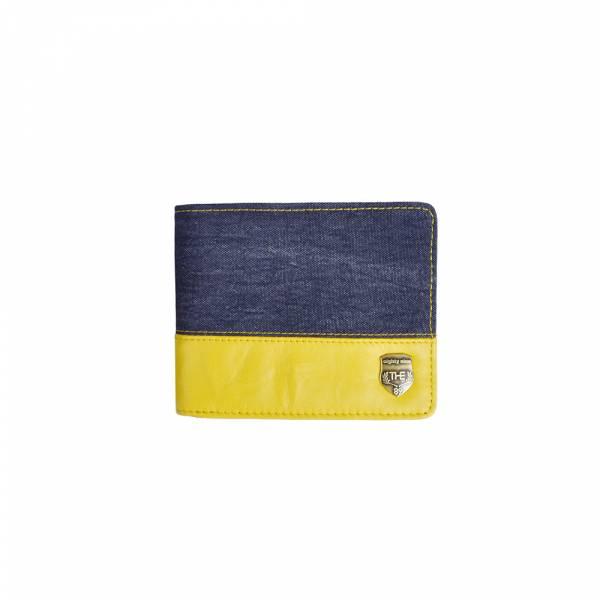 休閒摩登-短皮夾 (灰黃色/黑咖色) The89,男包,女包,斜肩包,後背包,腰包公事包,小包,短夾,長夾,手拿包,托特包,手提包,配件,證件夾,零錢包,名牌精品,專櫃品牌