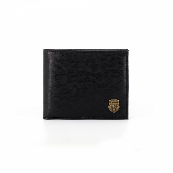 典藏皮革-短夾 (黑/藍) The89,男包,女包,斜肩包,後背包,腰包公事包,小包,短夾,長夾,手拿包,托特包,手提包,配件,證件夾,零錢包,名牌精品,專櫃品牌