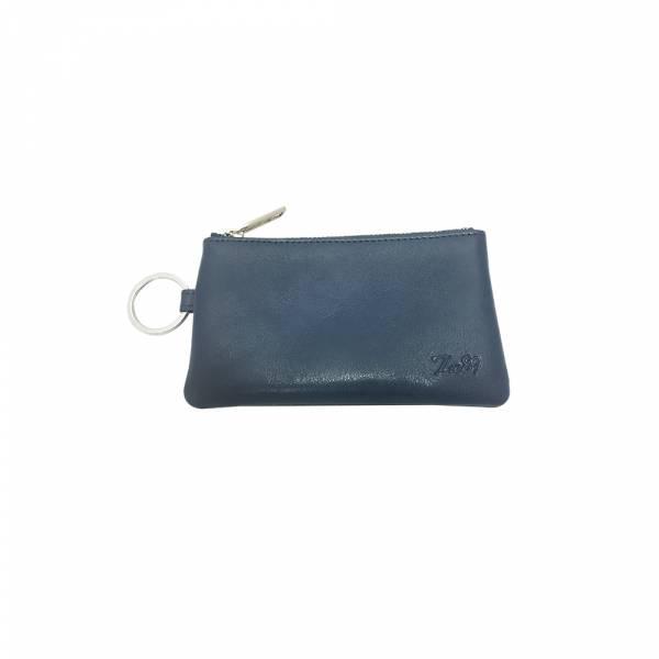 經典皮革-零錢包 (藍色) The89,男包,女包,斜肩包,後背包,腰包公事包,小包,短夾,長夾,手拿包,托特包,手提包,配件,證件夾,零錢包,名牌精品,專櫃品牌