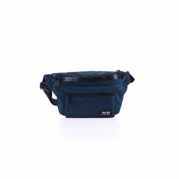 美好年代-腰包 (深灰/深藍) The89,男包,女包,斜肩包,後背包,腰包公事包,小包,短夾,長夾,手拿包,托特包,手提包,配件,證件夾,零錢包,名牌精品,專櫃品牌