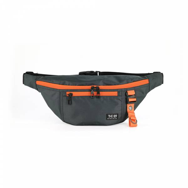 輕旅騎行-腰包 (鐵灰色) The89,男包,女包,斜肩包,後背包,腰包公事包,小包,短夾,長夾,手拿包,托特包,手提包,配件,證件夾,零錢包,名牌精品,專櫃品牌
