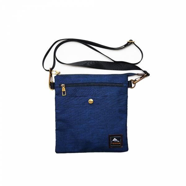 都會悠遊-斜背包 (黑/藍色) The89,男包,女包,斜肩包,後背包,腰包公事包,小包,短夾,長夾,手拿包,托特包,手提包,配件,證件夾,零錢包,名牌精品,專櫃品牌
