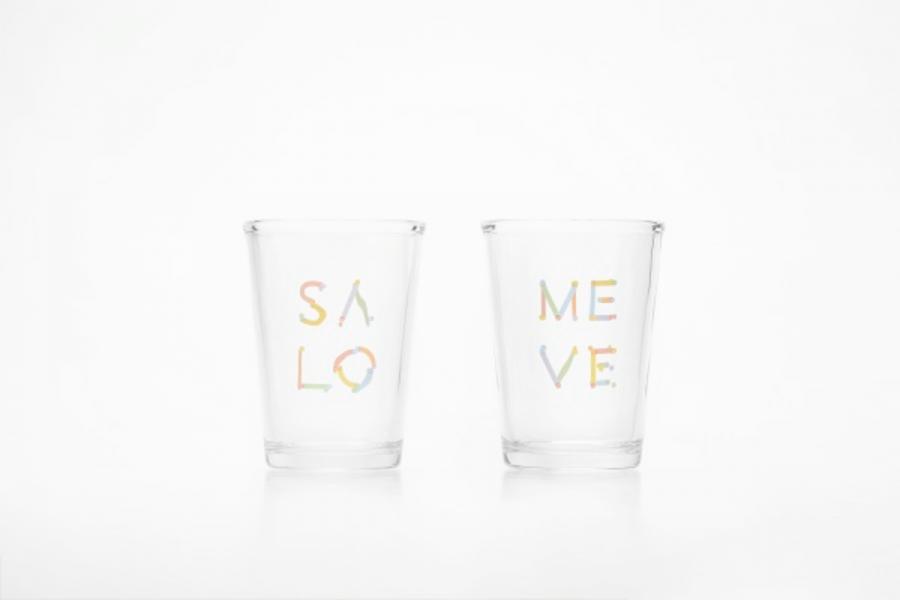 【彩虹密碼】玻璃對杯 對杯 平等 春池