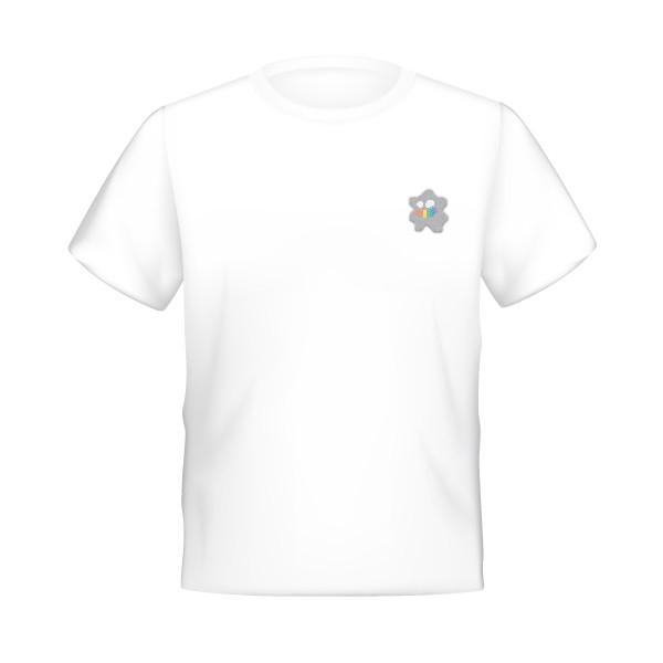 驕傲的笑顏-電繡變形蟲寶寶彩虹牙齒T T恤, 臺灣同志遊行, 紀念品, 19屆