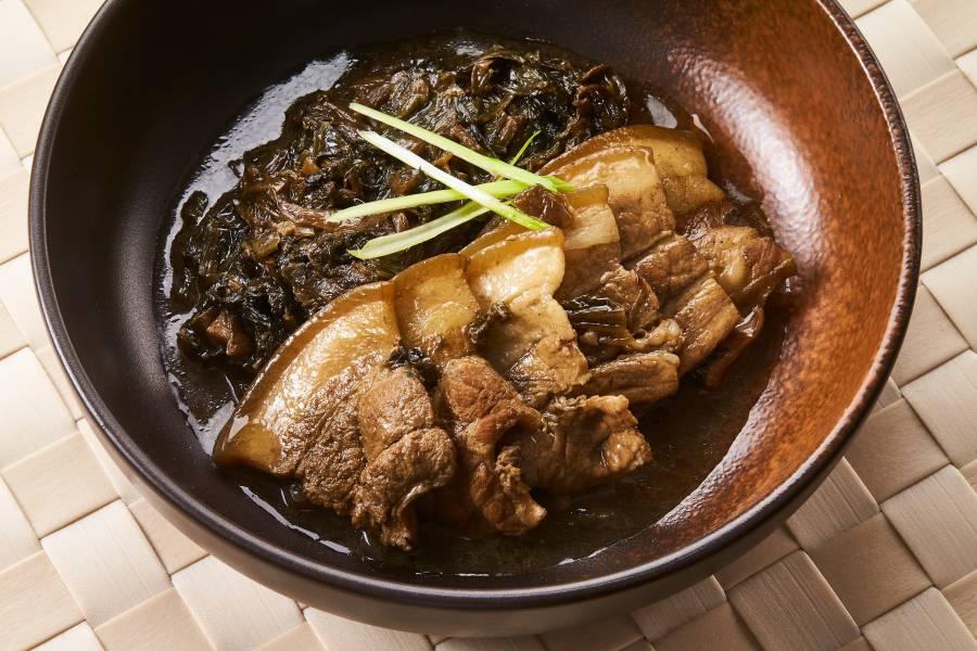 福氣梅葉扣肉
