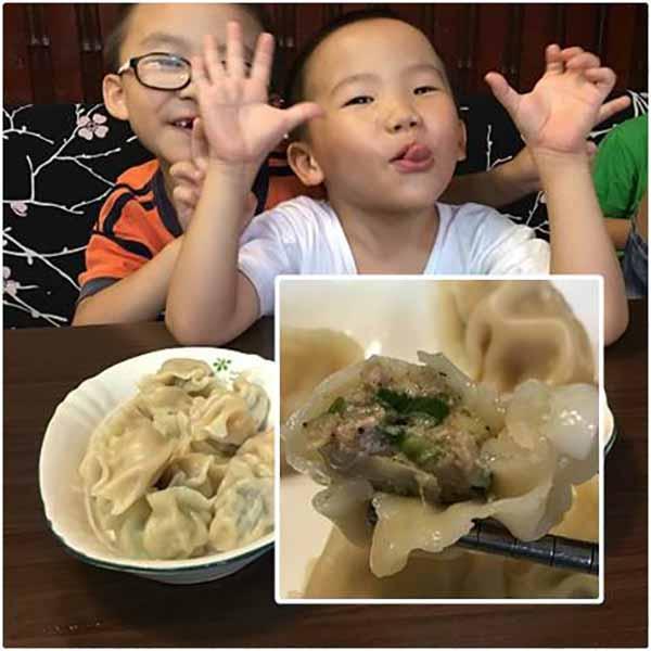 蔥媽媽-夏日好滋味 水餃+情人果冰,雙重味蕾享受 蔥媽媽,水餃,古早味,情人果冰,