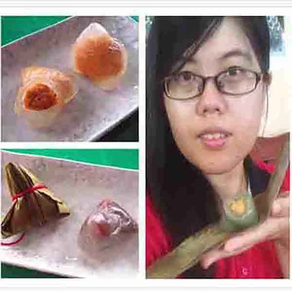 【4星級?端午冰粽】外皮Q彈的甜心冰粽,超適合當下午茶點心的啦  冰粽,冰心粽,端午節,素食