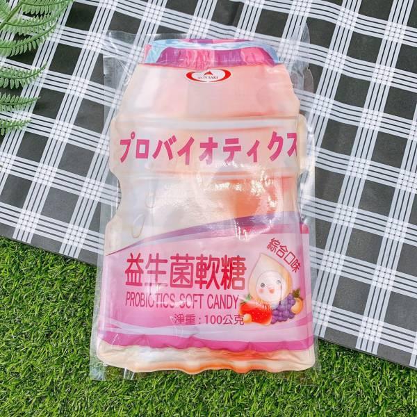 崑崎益生菌軟糖 綜合 100g 養樂多軟糖
