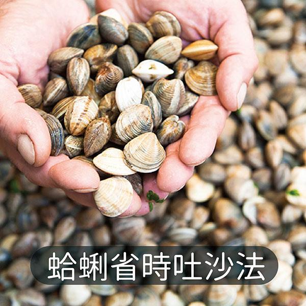 蛤蜊吐沙方式百百種~蔥媽媽教你蛤蜊省時吐沙法 蛤蜊吐沙,蛤蜊義大利麵,蛤蜊料理,蛤蜊