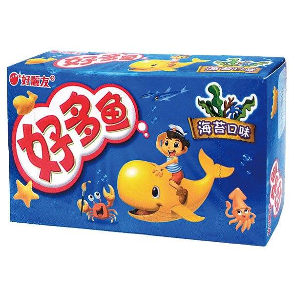 (韓國)好多魚餅乾_海苔口味