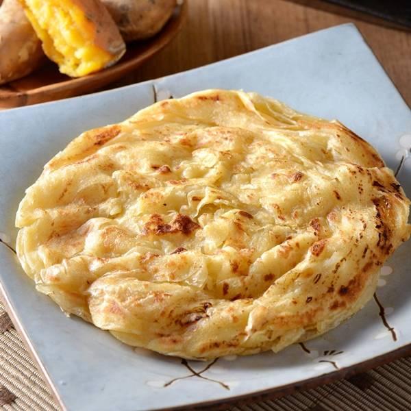 (團20包)地瓜抓餅(全素)(700g/5片) 地瓜抓餅,抓餅,健康 早餐, 地瓜, 蕃 薯
