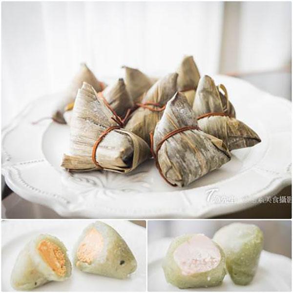 【蔥媽媽 -冰粽端午節系列】今年端午來點不一樣的冰粽!   粽子,冰粽,冰心粽,端午節,蔥媽媽,全素,奶素