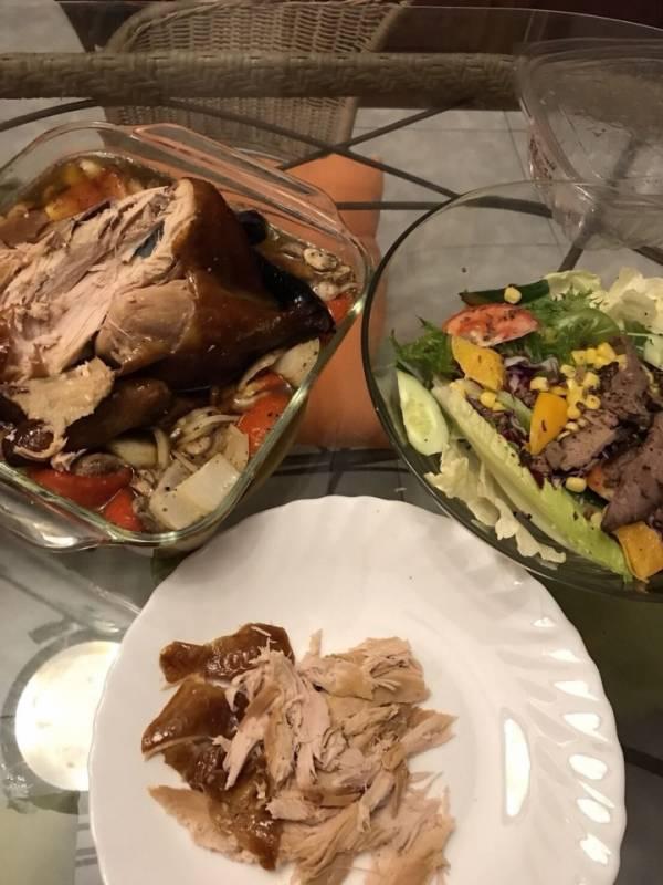 蔥媽媽燻雞再加工之一雞三吃(西式) 家庭主婦好幫手,團購美食,好料上桌