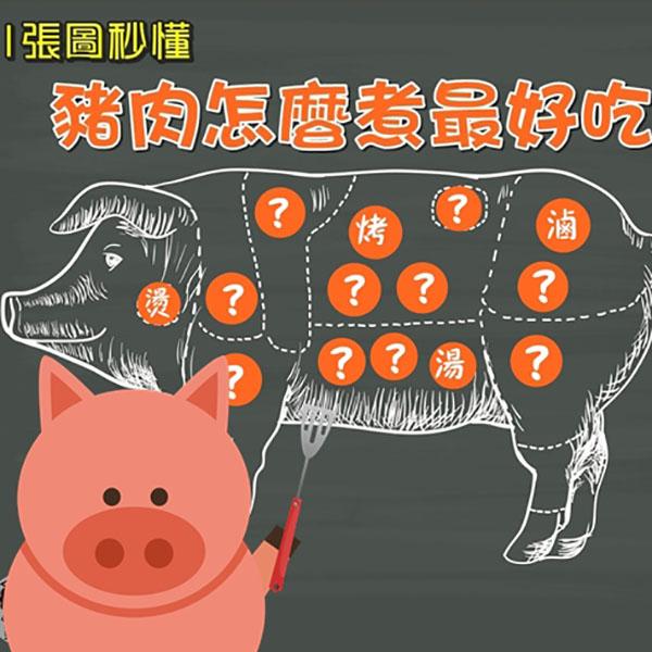 豬肉怎麼煮最好吃?豬肉料理全解析 豬肉料理,豬肉部位,松阪豬,豬前腿肉