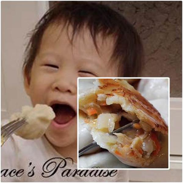 蔥媽媽(全素食品項)--牛肉麵、義大利麵、蔥抓餅、水餃和餡餅都有,原來素食也能做得這麼也可以很好吃 素食水餃,素食,水餃,香椿,素食抓餅,地瓜,地瓜抓餅