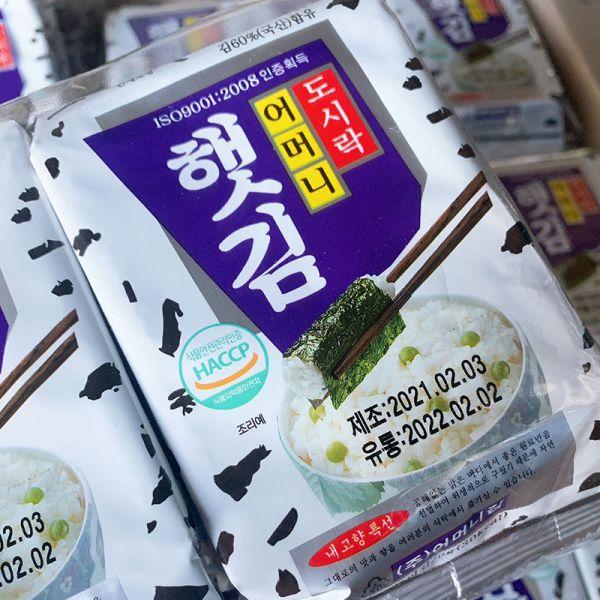 (韓國)金媽媽韓式海苔*1包