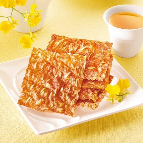 【快車肉乾-效期110.8.11】原味杏仁香脆肉紙