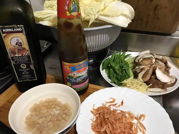 開陽白菜滷金元寶(蔥媽媽水餃創意料理) 過年,蔥媽媽,主婦好朋友