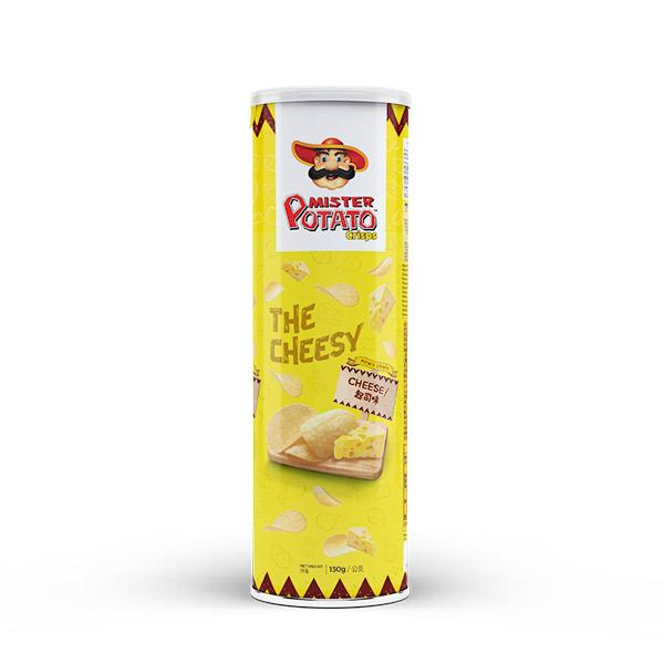薯片先生(起司味) 馬來西亞,薯片先生,MISTER POTATO,原裝進口,脆口,洋芋片,餅乾,零食,濃郁,馬鈴薯片,起司