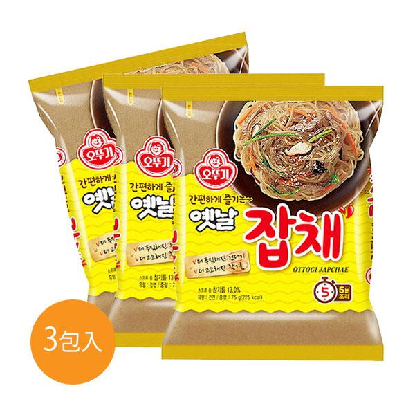 不倒翁韓式乾拌冬粉(3入)