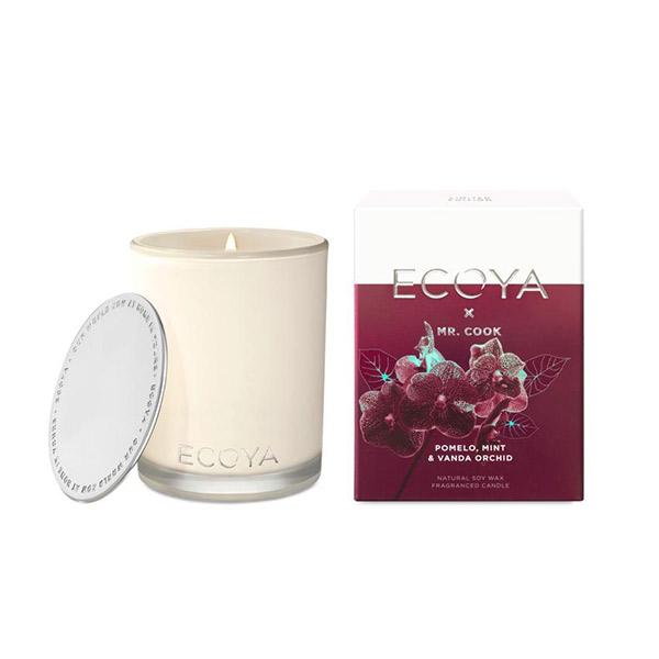 Ecoya 萬代蘭花 高雅香氛精油蠟燭 400g