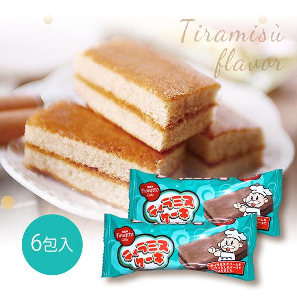 芙瓦多 提拉米蘇夾心蛋糕(6入)