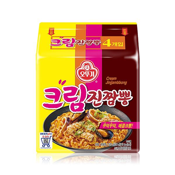 不倒翁 奶油金螃蟹海鮮風味拉麵
