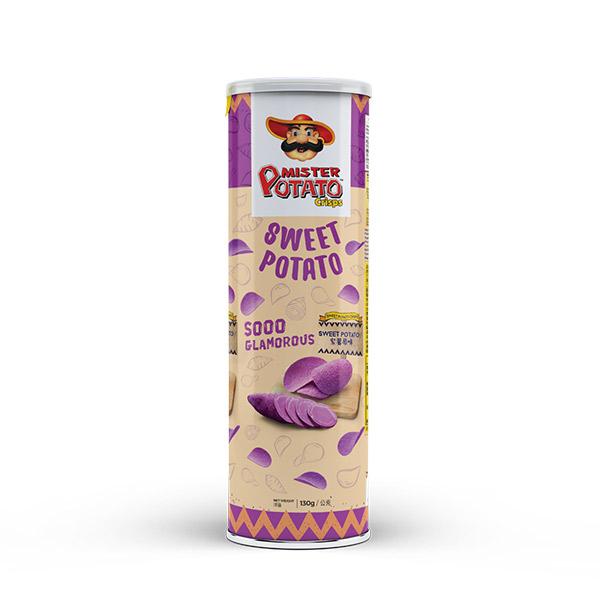 薯片先生(紫薯原味) 馬來西亞,薯片先生,MISTER POTATO,原裝進口,脆口,紫薯,洋芋片,餅乾,零食,濃郁,馬鈴薯片,番薯薯片