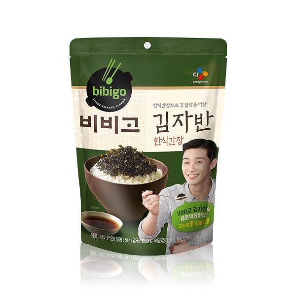 bibigo 韓式醬油海苔酥50g