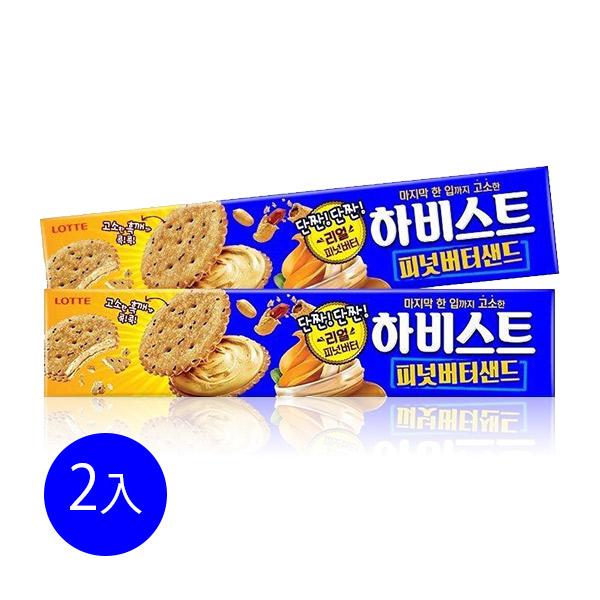 韓國樂天花生醬夾心餅乾(2入)