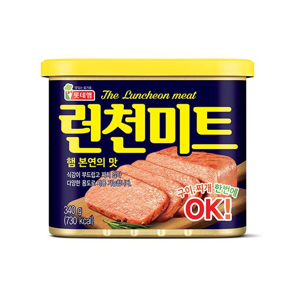 樂天 韓式午餐肉罐頭