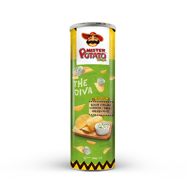 薯片先生(洋蔥味) 馬來西亞,薯片先生,MISTER POTATO,原裝進口,脆口,紫薯,洋芋片,餅乾,零食,濃郁,馬鈴薯片,番薯薯片