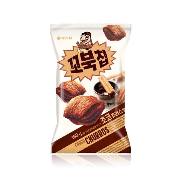 好麗友 烏龜餅乾(巧克力吉拿棒)80g 韓國進口,烏龜餅乾,四層,酥脆餅乾,餅乾,零食,COSTCO零食