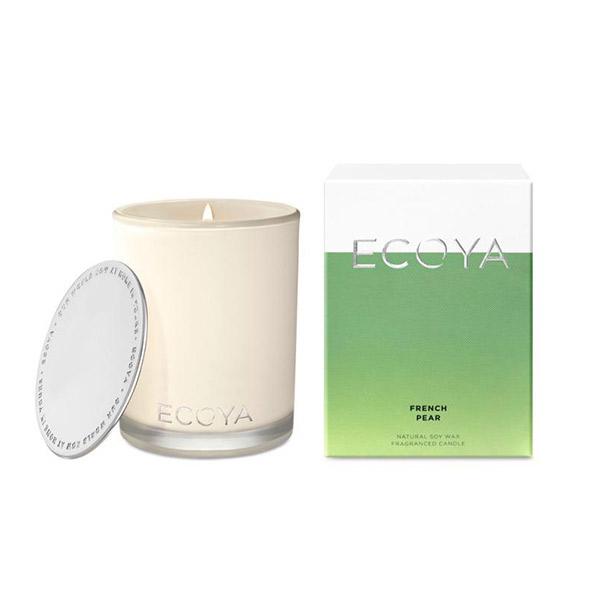Ecoya 法式梨香 高雅香氛精油蠟燭 400g