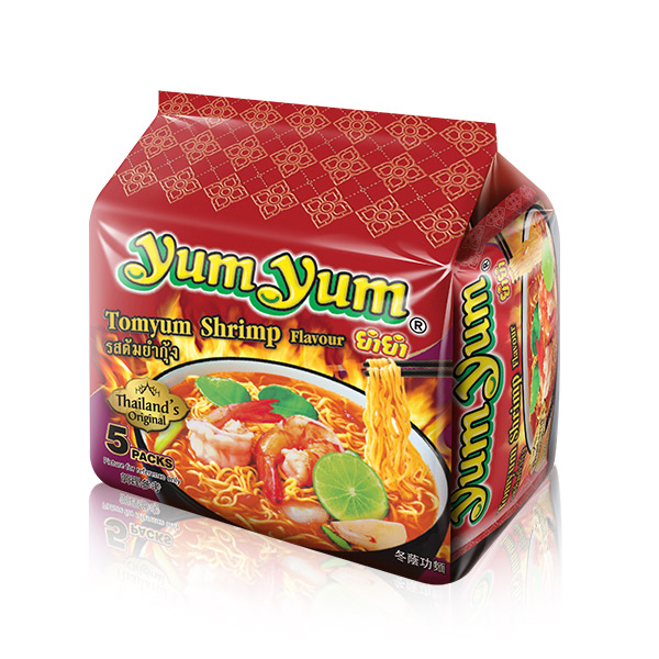 養養 泰式酸辣蝦味麵-5入